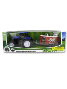 Childrens farm tractor set