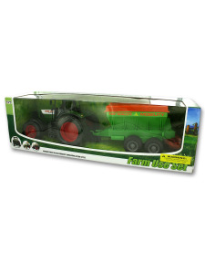 Farm tractor and set