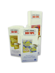3 piece assorted size stay fresh box tops