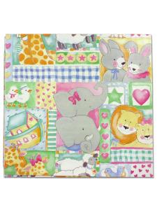 3 sheet baby gift wrap
