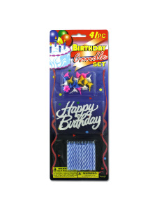Birthday candle set (41 pieces)