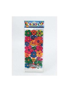 Colorfully daisy favor bags