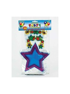 10 pk shaped party bags