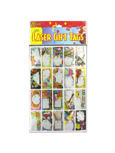 birthday gift tags (20 per pack)