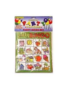 Bingo party game set