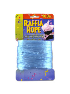 gift rope ribbon assorted colors (100 feet)