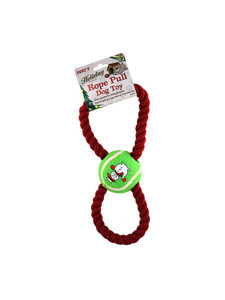 dog pull toy 3 assorted