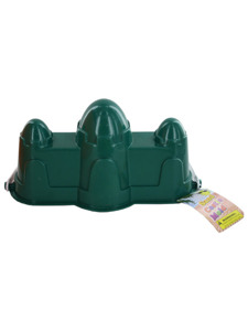Sand castle mold with handle