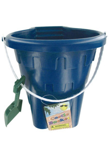 Castle bucket with pail and handle