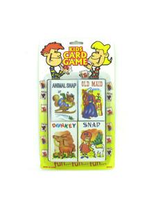 Childrens card game set