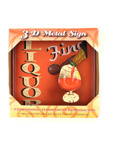 sq fine liquor 3d sign