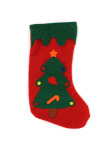 Felt Christmas stocking, Christmas tree