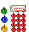 Small Christmas ornament balls