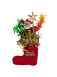 Santa Claus Stocking Holiday Ornament