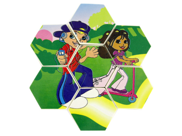 Two sided small Pop Kids puzzle