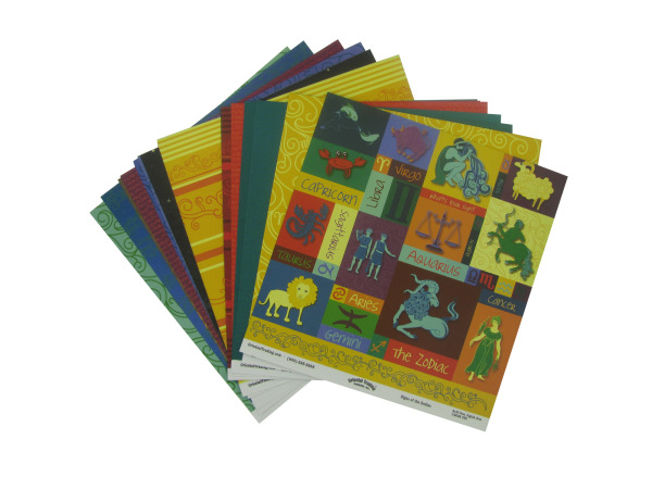 14 Pc. What's Your Sign? Paper Pack