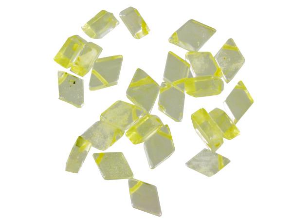 11MM Td Diamond Shp Cldy Quartz Beads