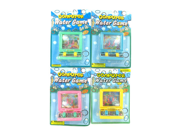 Water ring toss game, computer design