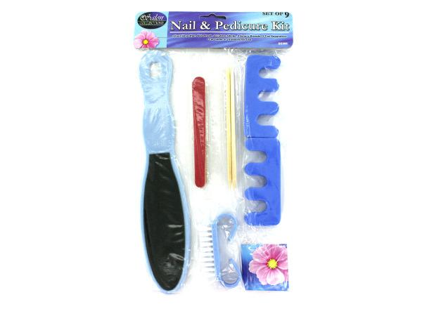 Nail and pedicure kit
