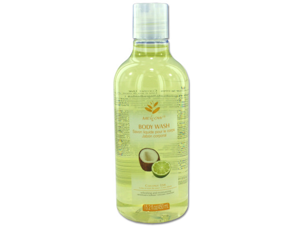 Coconut lime scented body wash