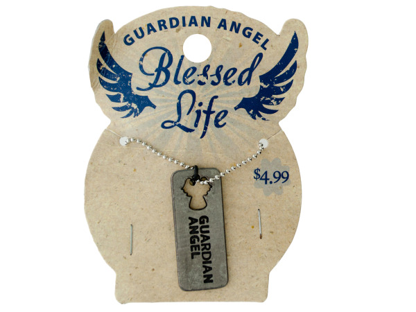 Blessed Life Dog Tag Necklace