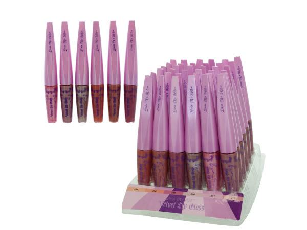 Velvet Lip Gloss Counter Top Display