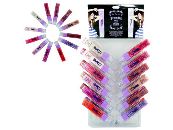 Plumping Lip Gloss Display