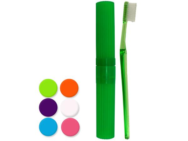 Travel Toothbrush & Case