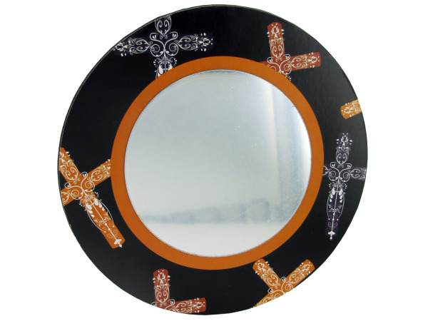 Wall Mirror With Magnetic Back Display