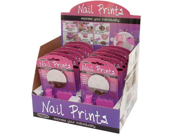 Nail Prints Kit Counter Top Display