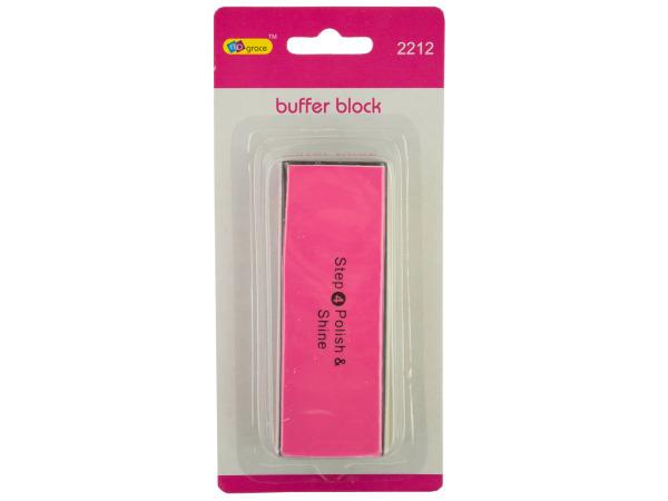 4-Sided Nail Buffer Block