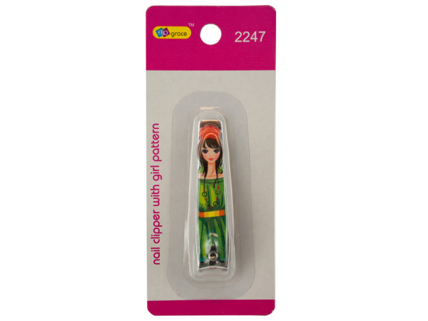 Eros Wholesale Nail Clipper with Girl Pattern - Case Pack 144 at Sears.com