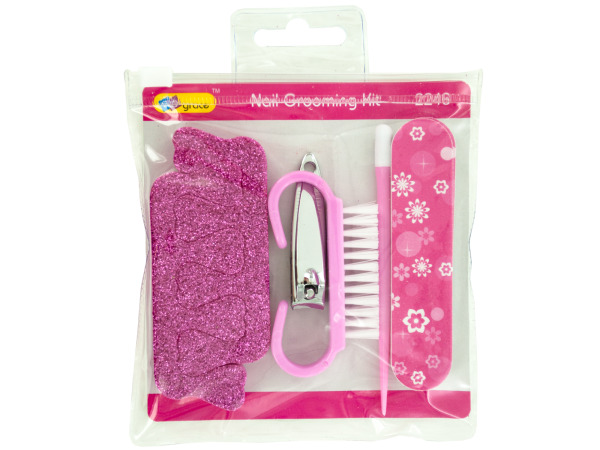 Glitter Nail Grooming Set