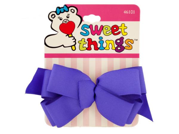 Colorful Ribbon Bow Barrettes