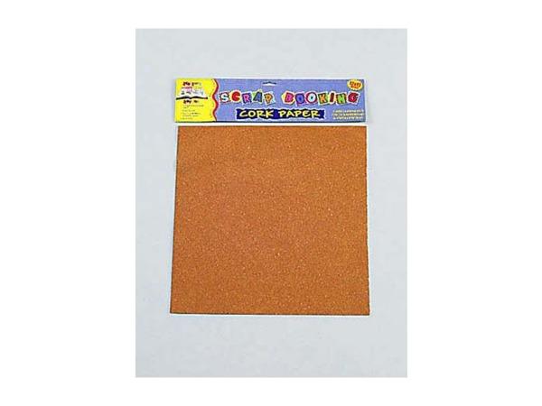 12x12 craft cork paper