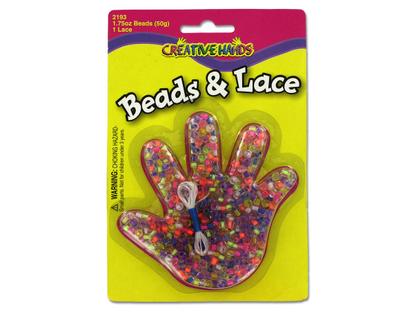 Beads with lace set