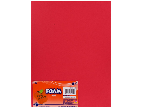 Drop shipping product catalog wholesale drop shipping for Red craft foam sheets