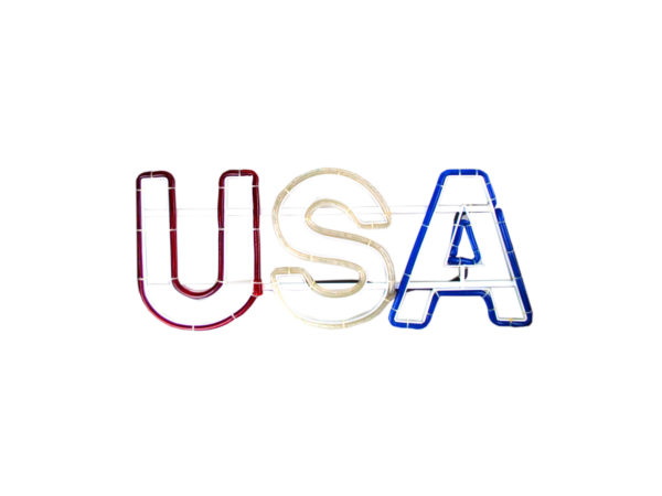 USA Light Up Sign