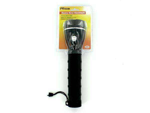 Heavy duty flashlight