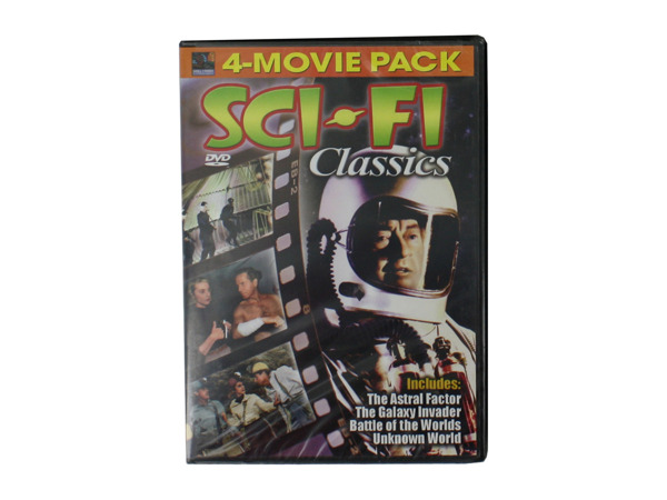 Science fiction movie pack