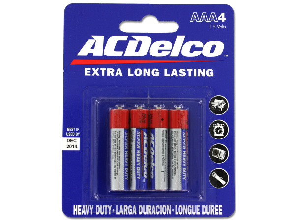 Heavy Duty 'AAA' Batteries