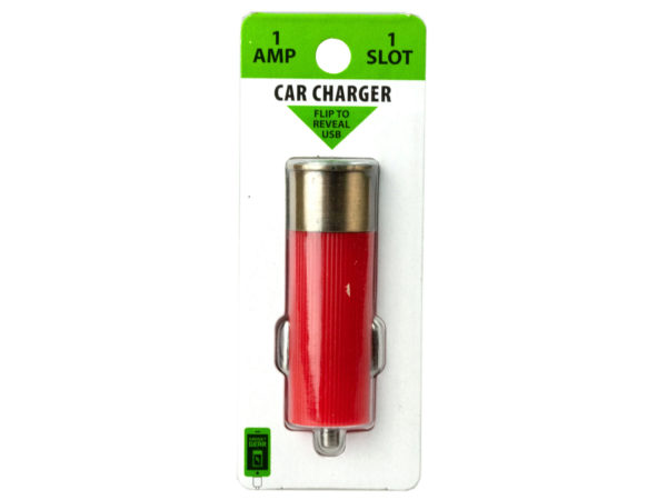 Shotgun Themed USB Car Charger