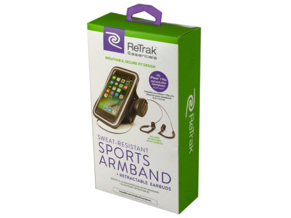 Essentials Armband and Earbuds