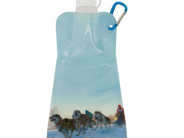Dog Sled Reusable Water Bottle