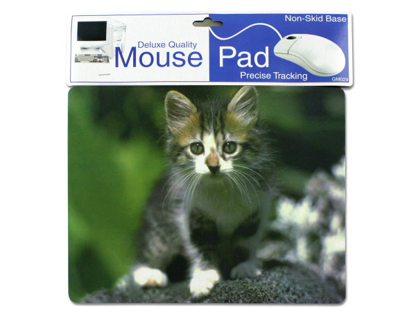 Precise tracking mouse pad