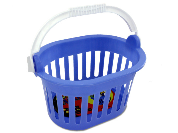BULK BUYS Bulk Pack of 24- 5 1/2 X 9&Quot;Plastic Basket W/ Carry Handle (Each) By Bulk Buys at Sears.com