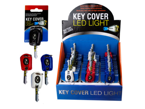 Key Cover LED Light Countertop Display