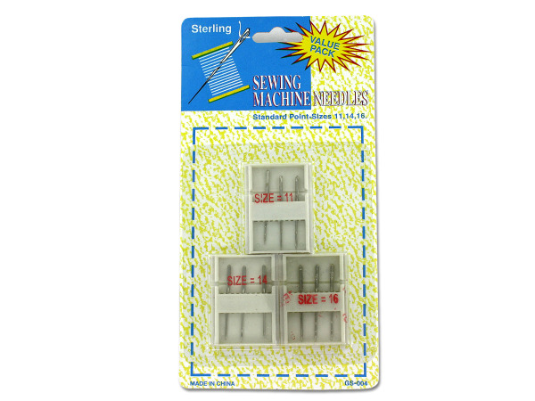 BULK BUYS Bulk Pack of 24- Sewing Machine Needles With Cases By Sterling (Each) By Bulk Buys at Sears.com