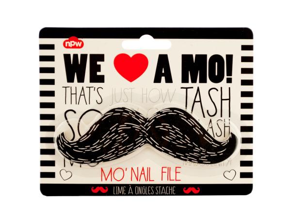 Black Mustache Nail File