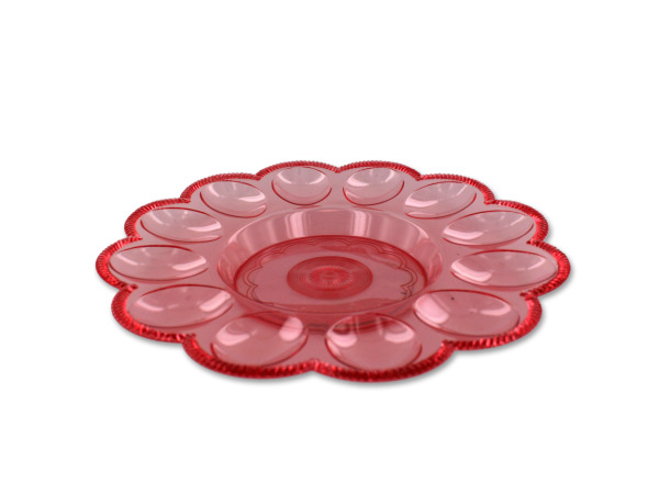 Decorative egg tray